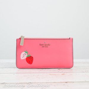 NWT Kate Spade Picnic in the Park Card Holder